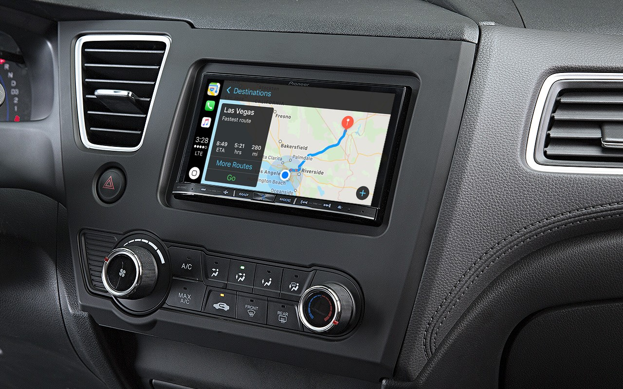 waze app updated with apple carplay support ios mode. Black Bedroom Furniture Sets. Home Design Ideas