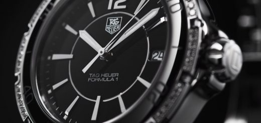 Diamonds ceramic watch by tag heuer formula 1 ladies