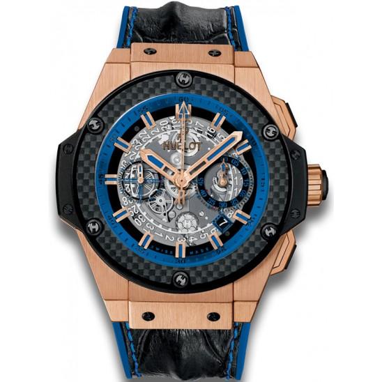 Hublot king power unico blue watch