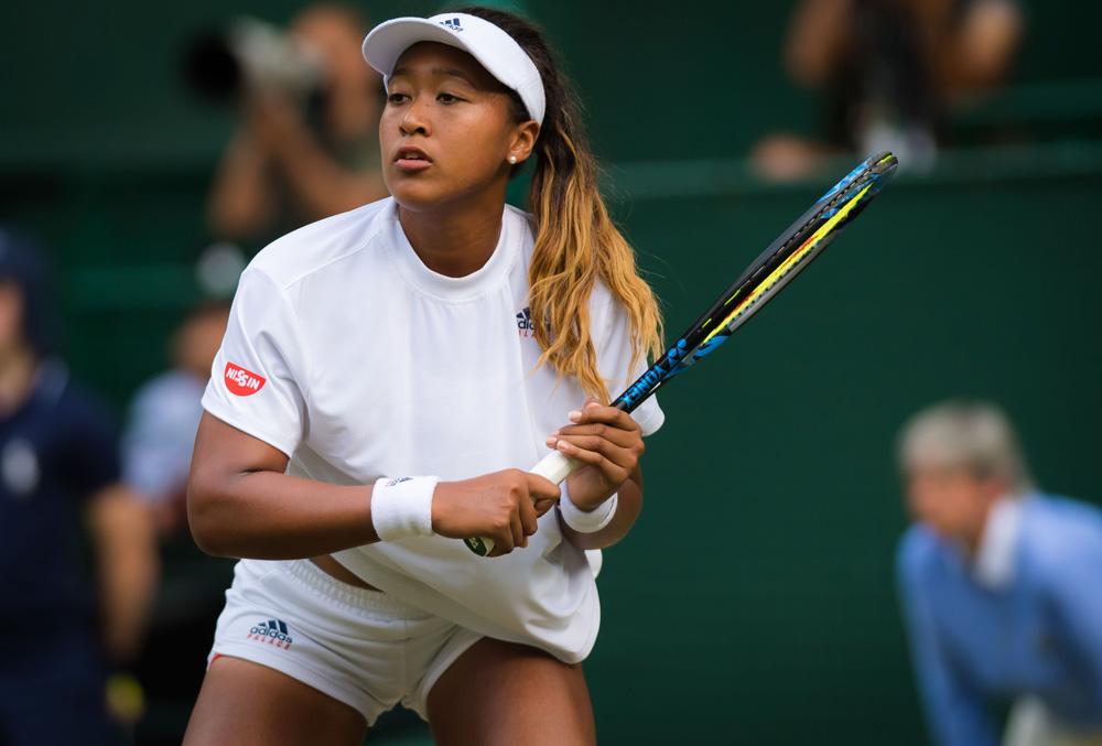 Naomi osaka white outfit