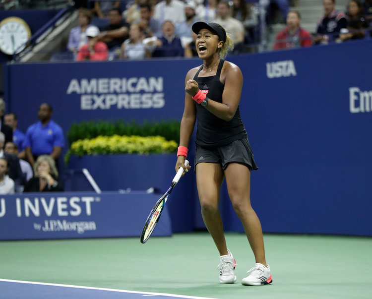 Naomi osaka winning