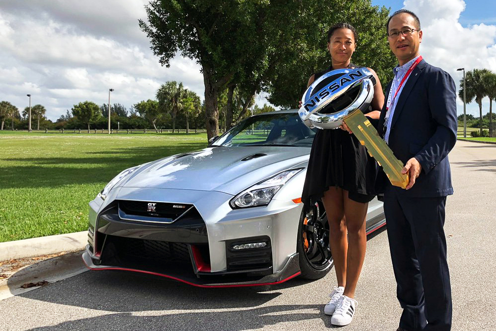 Naomi osaka signs with nissan as sponsors