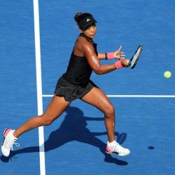 Power forehand tennis