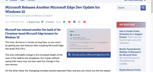 , Microsoft Edge Browser for Mac Gets a Dark Theme