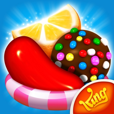 Candy Crush Saga Official Logo