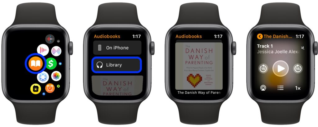 Adding a book to watchOS