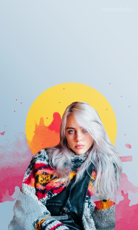 Billie eilish android wallpaper   Download Billie Eilish ...
