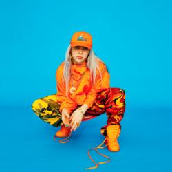 Billie Eilish Orange Shoes