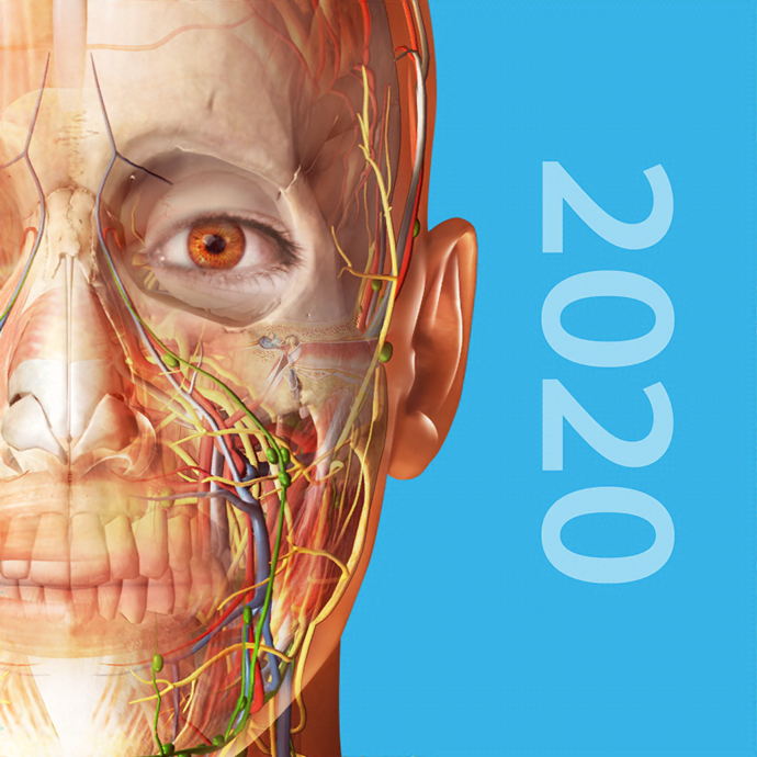 Human Anatomy Atlas 2020 official Logo