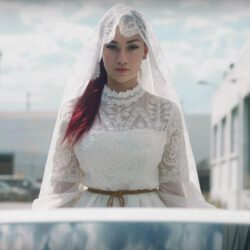 Bhad bhabie wedding dress