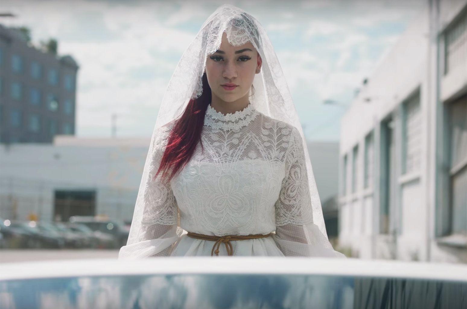 Bhad bhabie wedding dress