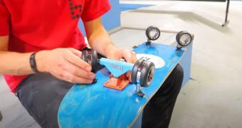 """, Apple's $700 Mac Pro Wheels Used on Skateboard, It """"Feels Like a Cadillac"""""""