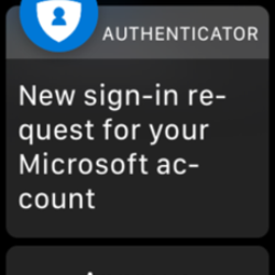 Microsoft Authenticator, Microsoft Authenticator For iOS