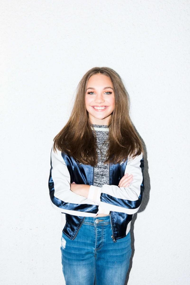Maddie smiling