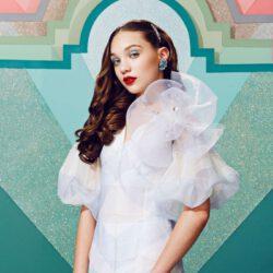 White retro dress