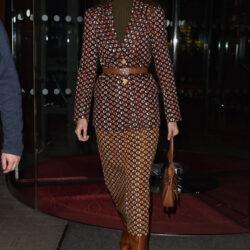Gigi hadid at le royal monceau raffles paris hotel
