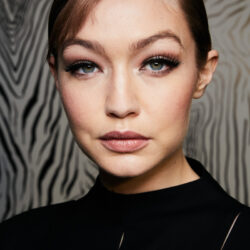 Gigi hadid face closeup