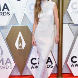 Red carpet at cma awards