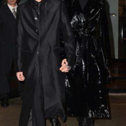 Gigi with zayn wearing all black