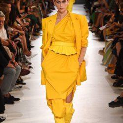 2021 yellow dress