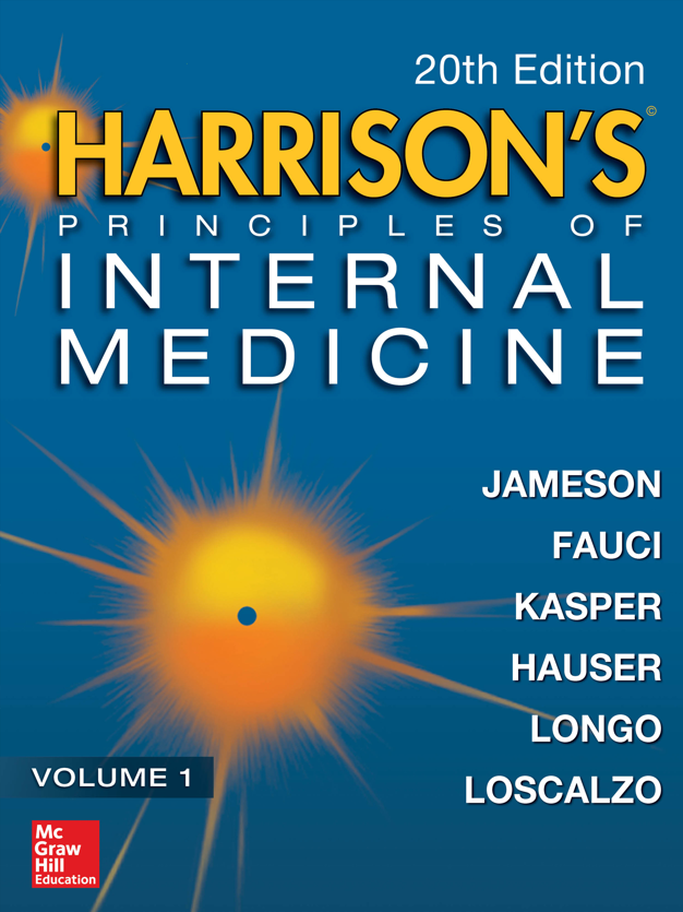 20th edition of Harrison's Internal Med.