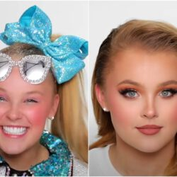 Jojo siwa james charles full makeup photo 2021