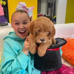Jojo with her dog