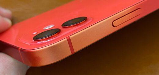 Iphone 12 red aluminum fades around part of the edges 532419 2
